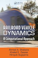 Cover image for Railroad vehicle dynamics : a computational approach