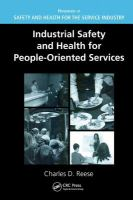 Cover image for Industrial safety and health for people oriented services