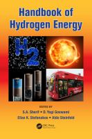 Cover image for Handbook of Hydrogen Energy