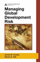 Cover image for Managing global development risk