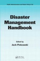 Cover image for Disaster management handbook