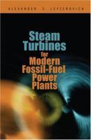 Cover image for Steam turbines for modern fossil-fuel power plants
