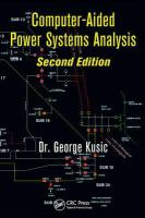 Cover image for Computer-aided power systems analysis