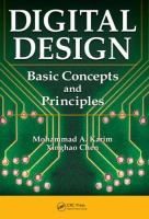 Cover image for Digital design : basic concepts and principles