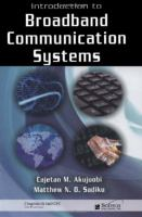Cover image for Introduction to broadband communication systems