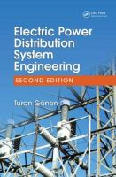 Cover image for Electric power distribution system engineering