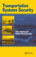 Cover image for Transportation systems security