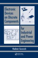 Cover image for Electronic devices on discrete components for industrial and power engineering