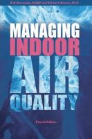 Cover image for Managing indoor air quality