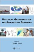 Cover image for Practical guidelines for the analysis of seawater
