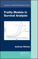Cover image for Frailty models in survival analysis