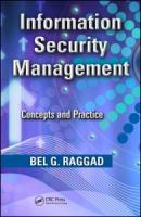 Cover image for Information security management : concepts and practice
