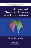 Cover image for Advanced number theory with applications