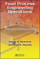 Cover image for Food process engineering operations
