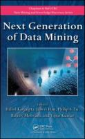 Cover image for Next generation of data mining