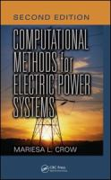 Cover image for Computational methods for electric power systems
