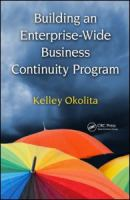 Cover image for Building an enterprise-wide business continuity program
