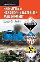 Cover image for Principles of hazardous materials management