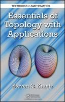 Cover image for Essentials of topology with applications