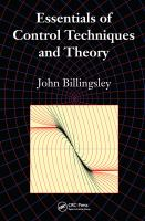 Cover image for Essentials of control techniques and theory