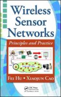 Cover image for Wireless sensor networks : principles and practice