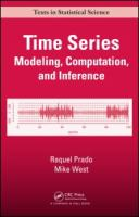 Cover image for Time series : modeling, computation, and inference