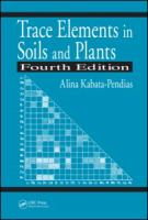 Cover image for Trace elements in soils and plants