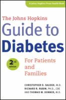 Cover image for The Johns Hopkins guide to diabetes : for patients and families