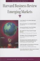 Cover image for Harvard business review on emerging markets