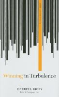 Cover image for Winning in turbulence
