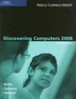 Cover image for Discovering computers 2008 : introductory