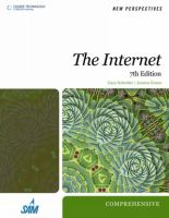Cover image for New perspectives on the internet : comprehensive