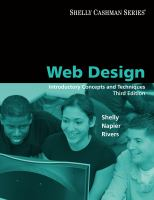 Cover image for Web design : introductory concepts and techniques