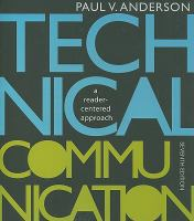 Cover image for Technical communication : a reader-centered approach