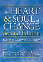 Cover image for The heart & soul of change : delivering what works in therapy