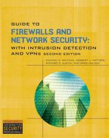 Cover image for Guide to firewalls and network security