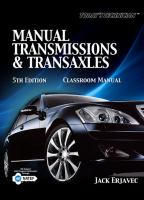 Cover image for Manual transmissions & transaxles