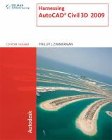 Cover image for Harnessing AutoCAD civil 3D 2009