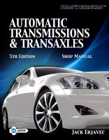 Cover image for Automatic transmissions & transaxles