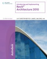 Cover image for Introducing and implementing Revit Architecture 2010