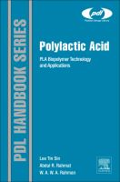 Cover image for Polylactic acid : PLA biopolymer technology and applications
