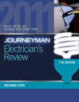 Cover image for Journeyman electrician's review : based on the National electrical code 2011