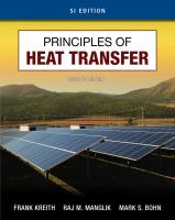 Cover image for Principles of heat transfer : SI edition