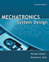 Cover image for Mechatronics system design