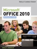 Cover image for Microsoft Office 2010 : introductory