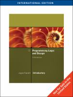 Cover image for Programming logic and design