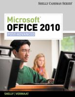 Cover image for Microsoft Office 2010 : post-advanced