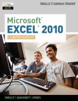 Cover image for Microsoft excel 2010 : comprehensive