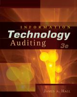 Cover image for Information technology auditing