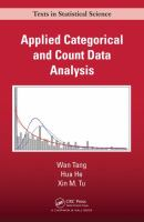 Cover image for Applied categorical and count data analysis